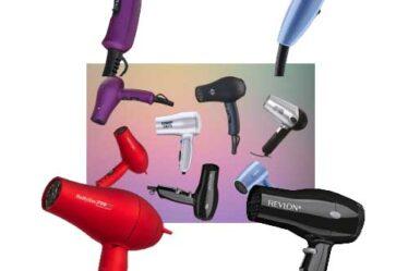 los mejores mini secadores para el pelo de viaje