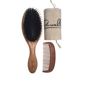 Dovahlia Boar Bristle Brush Set